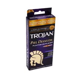 Preservativos Trojan Piel Desnuda 9 U