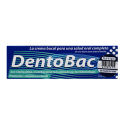 Crema Dental Dentobac 24 Ml