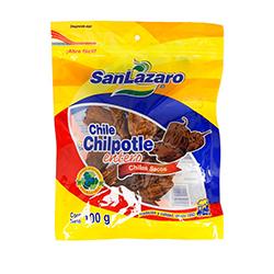 Chile Chilpotle Seco  San Lázaro Entero 100 g