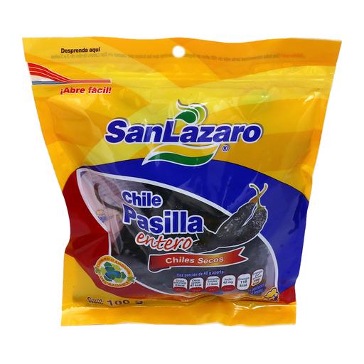 San Lazaro Chile Pasilla Entero