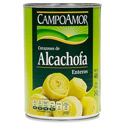Corazones de Alcachofa CampoAmor Enteros 410 g
