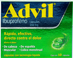 Advil 10 Cápsulas (200 mg)
