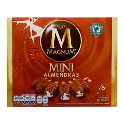 Paleta Helada Holanda Magnum Mini Almendras 60 mL x 6