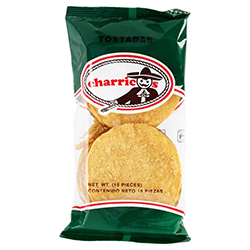 Tostadas Charricos 15 U