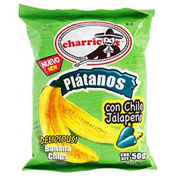 Plátanos Con Chile Jalapeño 50 g