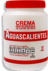 Crema Aguascalientes Pasteurizada 480 g