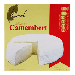 Queso Camembert Carol Artesanal 260 g