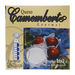Queso Laclette Camembert Gourmet 160 g