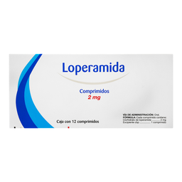 Loperamida Farmacom 12 Comprimidos (2 mg)