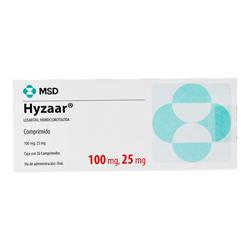 Hyzaar 100 25 Mg Tabs Caja C30