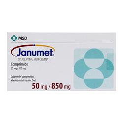 Janumet 56 Comp (50 mg/850 mg)