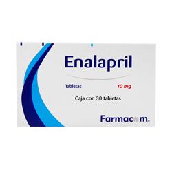 Farmacom Enalapril 30 Tabletas (10 mg)