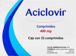 Farmacom Aciclovir 35 Comprimidos (400 mg)
