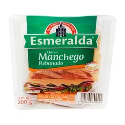 Queso Esmeralda Manchego  en Rebanadas 200 g