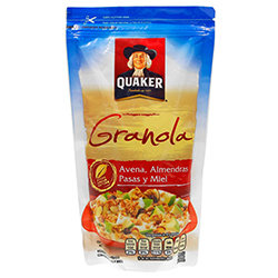Granola Quaker Avena Pasas 210 g