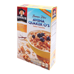 Cereal Quaker Os de Avena Sabor Vainilla 380 g