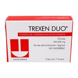 Trexen Duo Óvulos 7 U (100 mg/400)