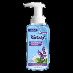 Jabón Kleenex Líquido Para Manos Hoja de Menta y Lavanda 220 mL