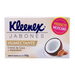 Jabón Kleenex Tocador Humectante Coco y Almendra