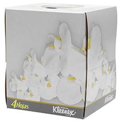 Pañuelo Desechable Kleenex 4 Hojas 50 U