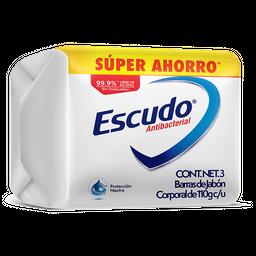 Jabón Escudo Neutro Antibacterial de Tocador Barra