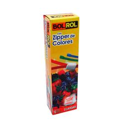 Bolsas Bol Rol Herméticas Con Zippers de Colores Grandes 16 U