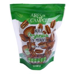 Nuez Aires de Campo Orgánica en Mitades 150 g