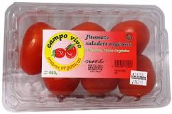 Jitomate Campo Vivo Saladet Organico 450 g