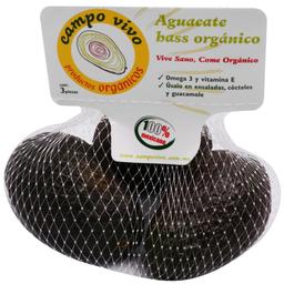 Aguacate Campo Vivo Hass Orgánico 3 U
