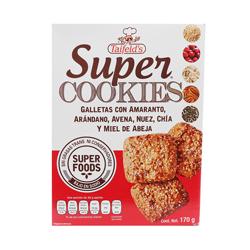 Galletas Semillas y Miel Super Cookies 170 g
