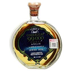 Tequila Corralejo 99 000 Horas Añejo Botella 750 mL