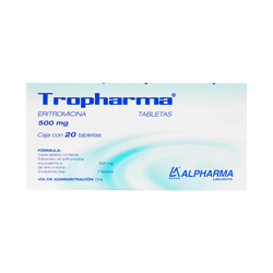 Comprar Calimax Eritromicina 500 Mg C/20 Tabs
