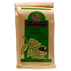 Café Finca Santa Veracruz en Grano Americano 500 g