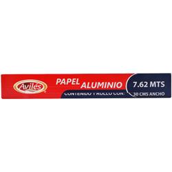 Papel Aluminio Avilés 7.62 x 30 cm 1 U