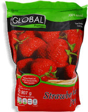 Fresas Congeladas Global Premier 907 g