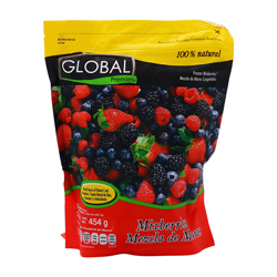 Mezcla de Moras Global Premier 100% Natural 454 g