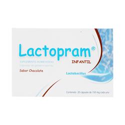 Lactobacilos Inf 150Mg C/20 Caps