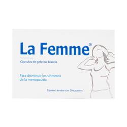 Progela La Femme Para Los Sintomas De La Menopausia