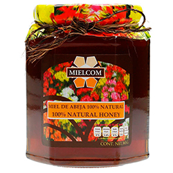 Miel de Abeja Mielcom 100 % Natural 365 g