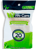 Cucharas We Care Biodegradables 20 U