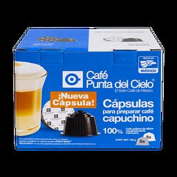 Cápsulas de Café Punta Del Cielo Capuchino 16 U