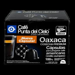 Cápsulas de Café Punta Del Cielo Oaxaca Cosecha Premium 16 U