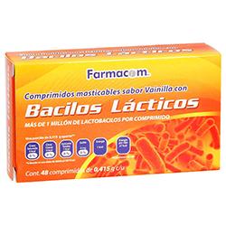 Bacilos Lacticos 48 Tabs