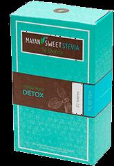 Té Mayan Sweet Stevia Detox Yerba Mate 20 U