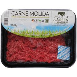Carne Molida de Res Green Farmers Premium 450 g