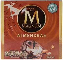 Paleta Helada Magnum Almendras 100 mL x 3 U