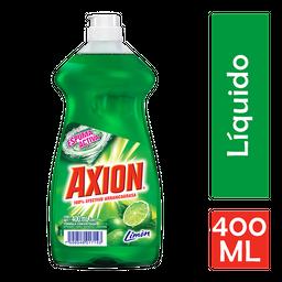 Lavatrastes Axion Aroma Limón 400 mL
