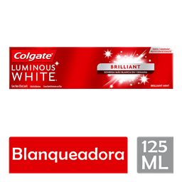 Pasta de Dental Colgate Luminous White Brilliant White 125ML