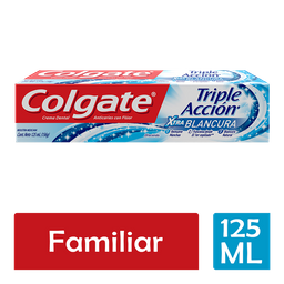 Pasta Dental Colgate Triple Acción 125 mL