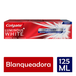 Pasta de Dental Colgate Luminous White Instant 125ML
